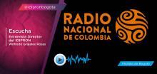 Entrevista Radio Nacional director IDIPRON