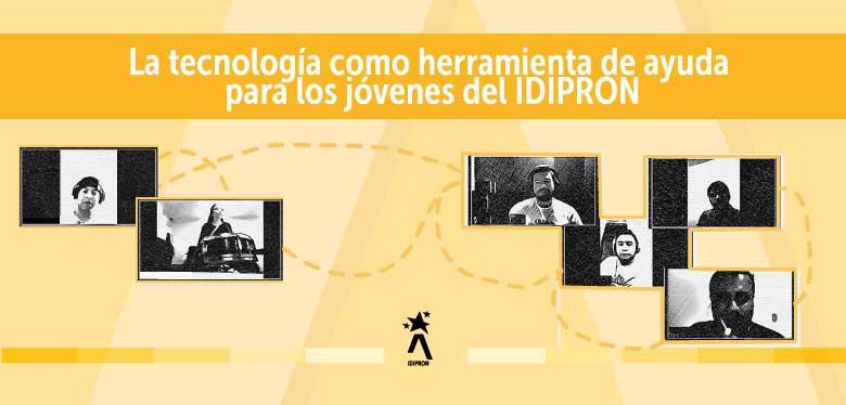 imagen de conexión entre personas a través de herramientas tecnológicas
