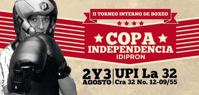 II Torneo de Box Copa Independencia 2 y 3 de agosto