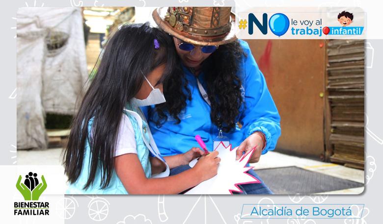 Bogotá cuenta con 13 Centros Amar, en donde los niños disfrutan aprendiendo y jugando