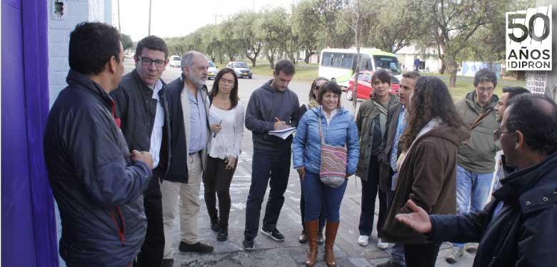 Visitantes internacionales en unidad de protección integral oasis